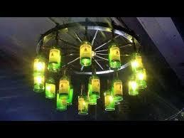 liquor bottle bar lighting chandeliers