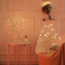 Room Decoration For Wedding Night With Lights Us 10 77 21 Off Festival Lamps Gypsophila Lights Bonsai Tree Light 36 108 Leds Night Light Pc Home Party Wedding Indoor Bedroom Decoration On