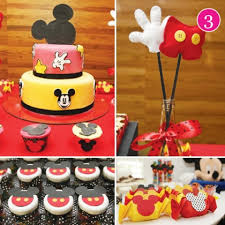 Baby Mickey Mouse Cake Topper For Baby Shower Or 1st Birthday Baby Mickey Baby Shower Cakes
