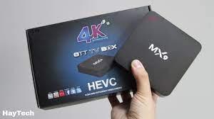 4K Ultra HD TV Box (MX 9) : 2GB RAM 16GB ROM: Buy Online at Best Prices in  Nepal