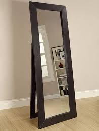 floor mirror. Black Full Length Standing Mirror Floor