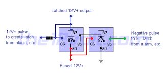 on off output using two momentary pulses 1 positive 1 negative latched on off output using two momentary pulses 1 positive 1 negative positive output 2 relays