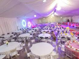 15 40m lining decoration wedding tent with chandelier