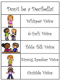 Decibella Voice Chart Kindergarten Blasts Decibella And Her 6 Inch Voice