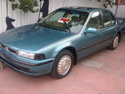 1991 honda accord 4door for sale.