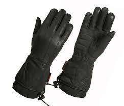 las lined technaline leather classic gauntlet gloves with waterproof wonder dry liner