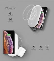 MIPOW <b>Power Cube</b> X2 10000mAh Qi Wireless Chargers with MFi ...