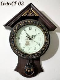 metal made pendulum wall clock