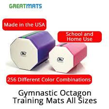 Octagon Tumbler Size Chart Gymnastics Octagon Mats All Sizes