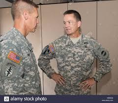 U.S. Army Gen. Dan Allyn, right, the commanding general of U.S. Army Stock  Photo - Alamy