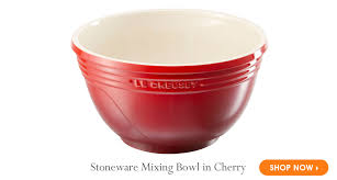 le creuset mixing bowls. Brilliant Bowls Le Creuset Stoneware Mixing Bowl In Cherry And Bowls