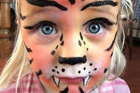 cute simple face paint face painting princess tiger cute designs for face painting