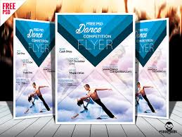 free dance flyer templates dance competition psd flyer template free download by free download