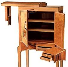 Dovetailed drawers is expected in quality furniture But