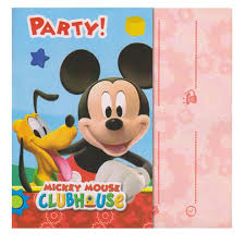 mickey mouse party invitation mickey mouse party invitations