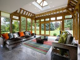 ... Large Size Modern Sunroom Ideas Mied With Some Magnificent Furniture  Make This Look Awesome ...
