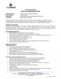 Project Administrator Sample Resume Cover Letter Template For Unix Manager Resume Xunix Project 18