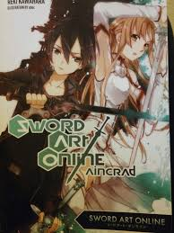 Light Art Online Sword Art Online Light Novel Volume 1 Anime Amino