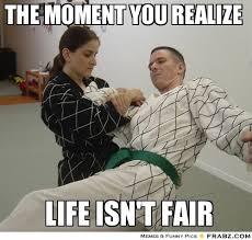 The moment you realize... - Martial Arts Amy Meme Generator ... via Relatably.com