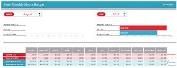 Excel Biweekly Budget Template Excel Biweekly Budget Tutar Opencertificates Co