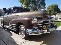 Chevrolet Fleetline 1947 Chevrolet Fleetline Gebrauchtwagen