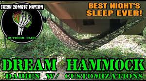 Dream Hammock Review - Best Night\u0027s Sleep I\u0027ve Ever Had While ...