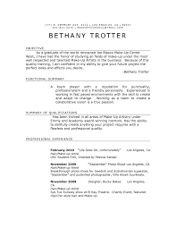 Mac Cosmetics Resume Sample Makeup Artist Resume Yralaska 11