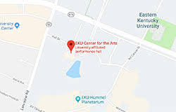 Eku Center For Arts Seating Chart Eastern Kentucky Universitys Center For The Arts Eku