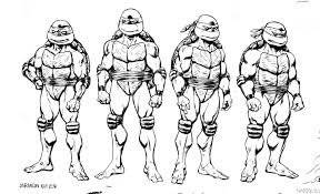 Small Picture Ninja Turtles Colouring In Pages FunyColoring
