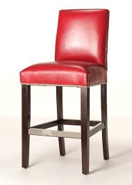 leather bar stools with backs. Red Barstools Sox Bar Stool With Back Leather Stools Arms Without Backs .