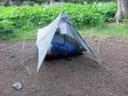 non freestanding tent