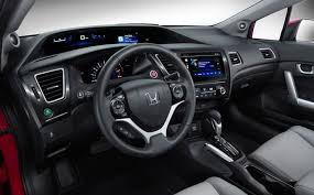 civic 2015 interior.  Interior 2015 Honda Civic Coupe Interior  Love The Layered Controls And Display  Inside Version Of And