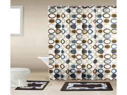 sami brown blue circle 15 piece bathroom accessory set 2 bath 2 piece