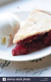 cherry pie slice with ice cream. Wonderful Pie Food Desserts Cherry Pie And Vanilla Ice Cream Slice Intended Cherry Pie Slice With Ice Cream B