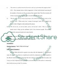 the use of doublespeak in bush s speech essay  9 11 speech essay example text preview