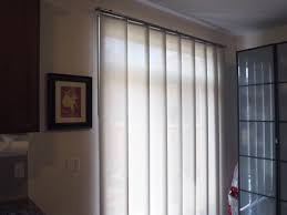 sliding panel track blinds patio doors