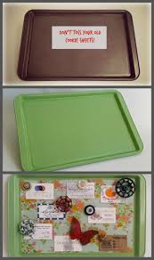 diy office gifts. This Is Why You Should NEVER Throw Out Those Old Cookie Sheets! :-) Diy Office Gifts