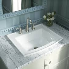 archer vitreous china rectangular drop in bathroom sink with overflow