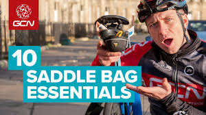 10 <b>Saddle Bag</b> Essentials To Take On Every <b>Bike</b> Ride - YouTube