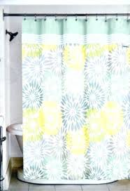shower curtain yellow and grey yellow fabric shower curtain home bayberry fabric shower curtain yellow blue
