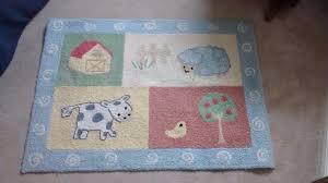 kidsline barnyard nursery rug