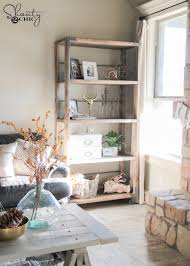 Industrial Bookcase Diy Diy Industrial Cart Bookcase Shanty 2 Chic