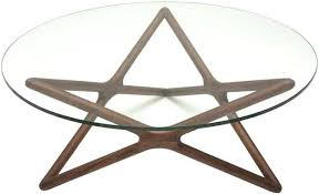 round walnut end table modern home and office furniture star round walnut coffee table round