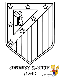 Small Picture Real Madrid Crest Coloring Pages Coloration