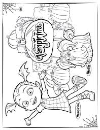 Get your free printable disney characters coloring sheets and choose from thousands more coloring pages on allkidsnetwork.com! 4 Coloring Pages Of Vampirina On Kids N Fun Co Uk Op Kids N Fun Vind Je Altijd De Leukst Free Halloween Coloring Pages Halloween Coloring Pages Coloring Pages