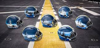 navy s custom helmet designs will blow your mind thepostgame com
