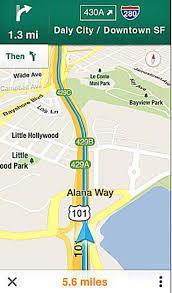 jersey england google maps app