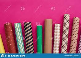 Design Your Own Wrapping Paper Gift Packaging Choose Your Own Colorful Wrapping Paper