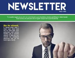 Free Download Newsletter Templates 25 Free Impressive Business Newsletter Templates For Download Quertime