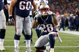 New England Patriots Rb Depth Chart Nfl Playoffs Rb James White Scores Two Touchdowns In